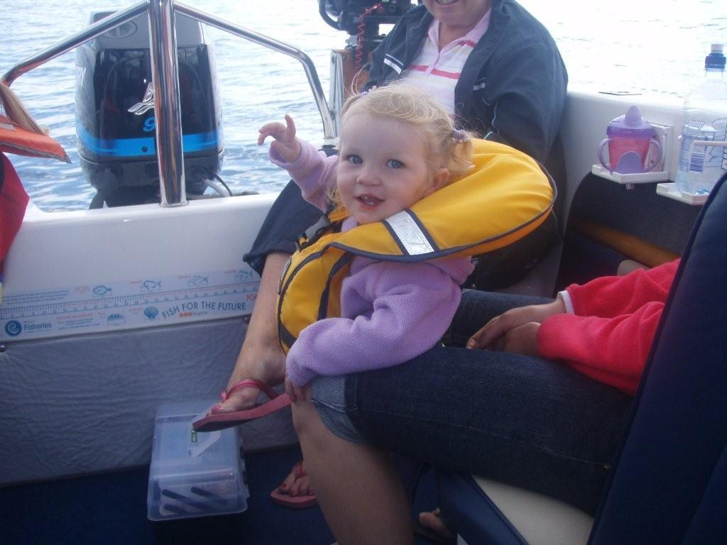 Olivia on the high seas